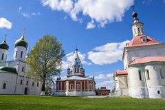 Architectural monuments of Kolomna, Russia Stock Photo
