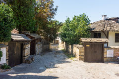 Architectural monuments of the old town of Lovech, Bulgaria royalty free stock photo
