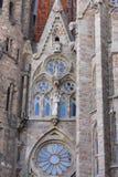 Architectural Monuments. Of Spain Barcelona Sagrada Familia stock photography
