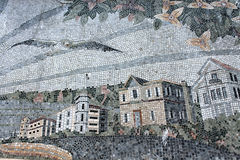 Architectural mosaic Royalty Free Stock Photo