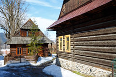 Architectural nook in the City of Zakopane, Poland Royalty Free Stock Image