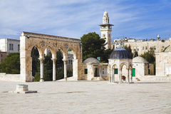 Architectural objects of the Jerusalem Old Town Royalty Free Stock Photo