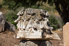 Architectural Order in Ephesus Ancient City Stock Photos