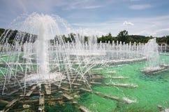 Architectural and park ensemble of Tsaritsino Royalty Free Stock Photo