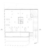 Architectural parking Plan stock photo