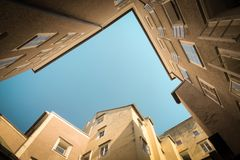 Architectural Photography of Beige Buildings