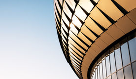 Architectural Photography of Glass Colesium Stock Image