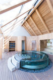 Architectural Photography of Swimming Pool Inside Building Stock Images