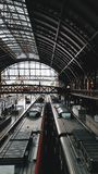 Architectural Photography of Train Station Royalty Free Stock Images