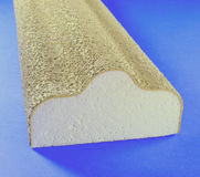 Architectural Polystyrene Royalty Free Stock Photography