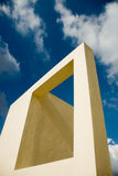 Architectural rectangle Royalty Free Stock Photography