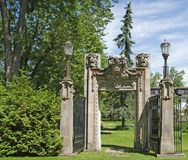 Architectural Remnants-Guild Gardens, Toronto Stock Photo