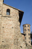 Architectural remnants Theoderic's Palace Stock Images