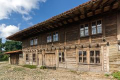 Architectural reserve of Zheravna with nineteenth century houses, Bulgaria. Architectural reserve of Zheravna with nineteenth century houses, Sliven Region royalty free stock photos