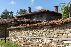 Architectural reserve of Zheravna with nineteenth century houses, Bulgaria. Architectural reserve of Zheravna with nineteenth century houses, Sliven Region stock image