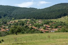 Architectural reserve of Zheravna with nineteenth century houses, Bulgaria. Architectural reserve of Zheravna with nineteenth century houses, Sliven Region stock images