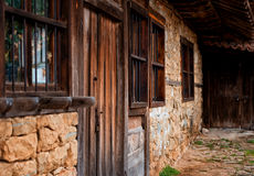 Architectural reserve Zheravna village, Bulgaria. Zheravna is a village in central eastern Bulgaria. The village is an architectural reserve of national Stock Photography