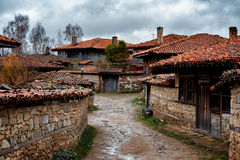 Architectural reserve Zheravna village, Bulgaria. Zheravna is a village in central eastern Bulgaria. The village is an architectural reserve of national Stock Image