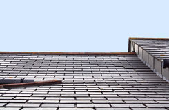 Architectural Roof Angle Royalty Free Stock Photos