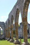 Architectural ruin. Of unfinished church Royalty Free Stock Photo