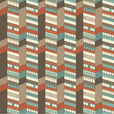 Architectural seamless pattern Stock Photos