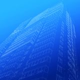 Architectural sketch of building Royalty Free Stock Photo
