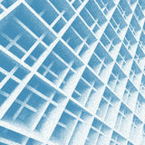 Architectural Sketch Design. Blue Architectural Sketch Design or Background Royalty Free Stock Image