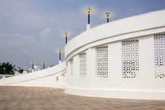 Architectural special entrance to velamkani church. royalty free stock photos