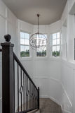 Architectural Staircase Newly Constructed Home Royalty Free Stock Image