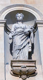 Architectural statue of Demeter Royalty Free Stock Image