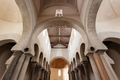 Architectural structure detail of mozarabic church Royalty Free Stock Image