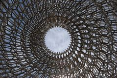 Dome at Expo Milano 2015. Architectural structure Expo Milano 2015 Stock Images