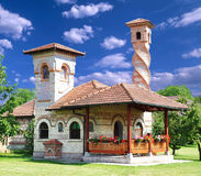 Architectural structure. In the monastery Kovilj, Srbia Royalty Free Stock Photo