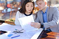Free Architectural Students Calling By Smartphone To Teacher To Ask A Stock Photo - 109788730