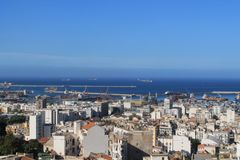 Algiers, capital city of Algeria Royalty Free Stock Images
