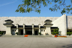 Architectural style of ancient Chinese Stock Images
