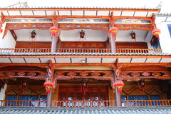 Architectural Style of Bai Nationality Royalty Free Stock Photo