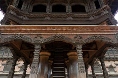 Architectural temple in Bhaktapur Royalty Free Stock Images