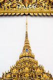 Architectural Temple Detail, Bangkok, Thailand Royalty Free Stock Photography