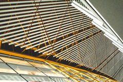 Architectural texture. Lines of a building forming texture Stock Photography