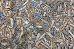 Architectural texture of natural paving royalty free stock image