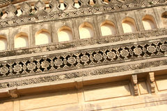 Architectural traditions of Qutub Shahi tombs,hyderabad,india Royalty Free Stock Photo
