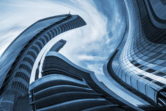 Architectural Vertigo Royalty Free Stock Photography