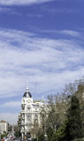 Architectural wonders of Madrid Stock Image