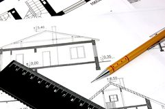 Architectural Work Stock Image