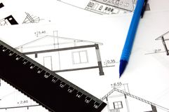 Architectural Work Stock Photography