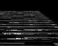 Architecturale Buitenpatronen royalty-vrije stock fotografie