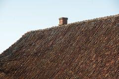 Architecturale details van oud stadscentrum in Riga, Letland Royalty-vrije Stock Fotografie