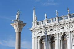 Architecturale details in Venetië, Italië stock foto