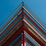 Architecturale driehoeken Stock Afbeelding